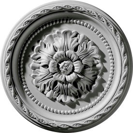 "Ekena Palmetto Ceiling Medallion CM11PA, 11-1/2""OD x 1-1/2""ID x 1""D"