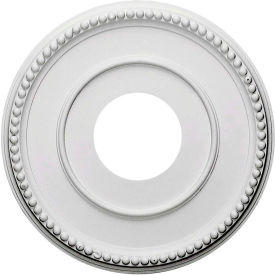"Ekena Bradford Ceiling Medallion CM12BR, 12-1/2""OD x 3-7/8""ID x 3/4""D"