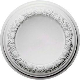 "Ekena Carlsbad Ceiling Medallion CM12CA, 12-1/2""OD x 1-1/2""D"