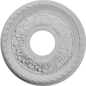 "Ekena Palmetto Ceiling Medallion CM12PM, 12-1/8""OD x 3-5/8""ID x 1""D"