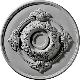 "Ekena Monique Ceiling Medallion CM13MO, 13-3/4""OD x 3-3/4""ID x 1""D"