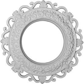 """Ekena Orrington Ceiling Medallion CM13OR, 13-1/4""""OD x 6-5/8""""ID x 1-1/8""""D"""