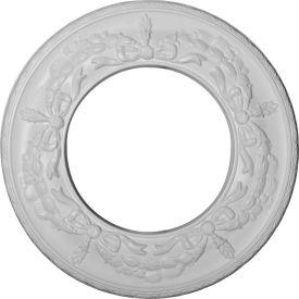 "Ekena Salem Ceiling Medallion CM13SA, 13-1/4""OD x 7-1/8""ID x 7/8""D"