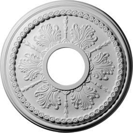 """Ekena Tirana Ceiling Medallion CM13TI, 13-7/8""""OD x 3-3/4""""ID x 1-1/4""""D"""