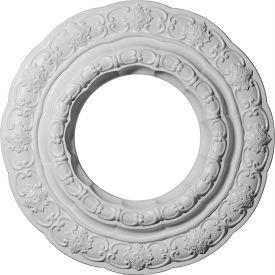 "Ekena Lisbon Ceiling Medallion CM15LI, 15-3/8""OD x 7""ID x 1""D"