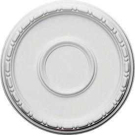 """Ekena Medea Ceiling Medallion CM16MD, 16-1/2""""OD x 5-1/2""""ID x 1-1/2""""D"""