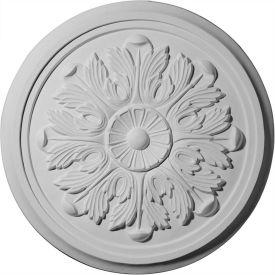 """Ekena Large Legacy Acanthus Ceiling Medallion CM17LE, 17-7/8""""OD x 1-1/8""""D"""