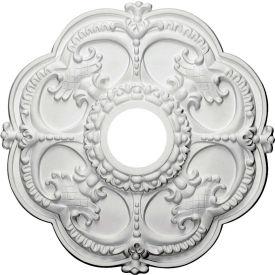 "Ekena Rotherham Ceiling Medallion CM17RO, 18""OD x 3-1/2""ID x 1-1/2""D"