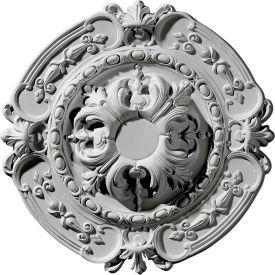 "Ekena Southampton Ceiling Medallion CM17SO, 16-3/8""OD x 2-3/4""ID x 1-3/4""D"