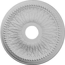 "Ekena Bailey Ceiling Medallion CM18BI, 18""OD x 3-3/4""ID x 1-1/2""D"