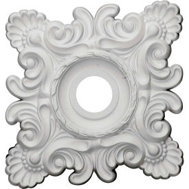 """Ekena Crawley Ceiling Medallion CM18CR, 18""""W x 18""""H x 3-1/4""""ID x 1-1/2"""""""