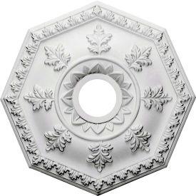 "Ekena Nottingham Ceiling Medallion CM18NT, 18""OD x 3-1/2""ID x 1-1/2""D"