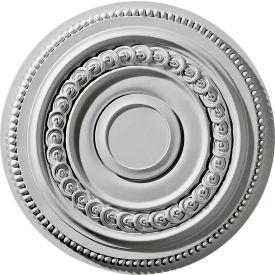 """Ekena Oldham Ceiling Medallion CM18OL, 18""""OD x 5-3/4""""ID x 1-1/4""""D"""