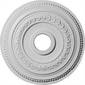 """Ekena Oldham Ceiling Medallion CM18OL1, 18""""OD x 3-3/8""""ID x 7/8""""D"""