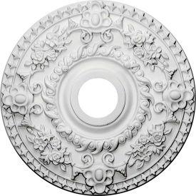 "Ekena Rose Ceiling Medallion CM18RO, 18""OD x 3-1/2""ID x 1-1/2""D"