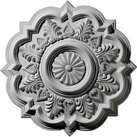 """Ekena Deria Ceiling Medallion CM20DR, 20-1/4""""OD x 5""""ID x 1-1/2""""D"""