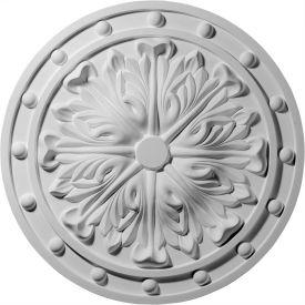 """Ekena Foster Acanthus Leaf Ceiling Medallion CM20FO, 20-1/2""""OD x 2""""ID x 1-1/2""""D"""
