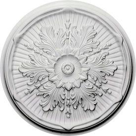 "Ekena Luton Ceiling Medallion CM21LU, 21""OD x 2""ID x 2""D"