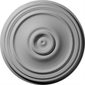 "Ekena Reece Ceiling Medallion CM21RE, 21""OD x 3-3/4""ID x 1-1/4""D"