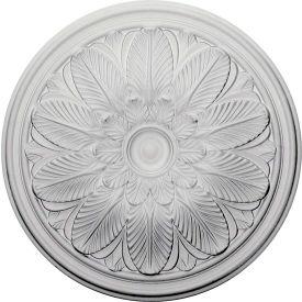 """Ekena Bordeaux Ceiling Medallion CM22BO, 22-5/8""""OD x 1-3/4""""D"""