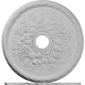 "Ekena Grape Ceiling Medallion CM22GR, 22-5/8""OD x 3-5/8""ID x 5/8""D"
