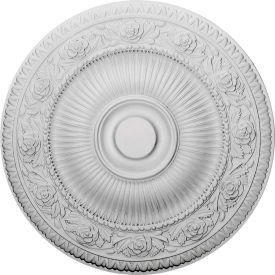 "Ekena Neuveau Ceiling Medallion CM24NA, 24-1/4""OD x 2""D"
