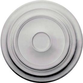 "Ekena Traditional Ceiling Medallion CM24TR, 24-3/8""OD x 5-1/4""ID x 1-1/2""D"