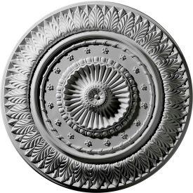 """Ekena Christopher Ceiling Medallion CM26CS, 26-5/8""""OD"""