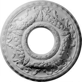 "Ekena Hurley Ceiling Medallion CM26HU, 22-1/8""OD x 7-1/4""ID"