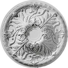 """Ekena Tristan Ceiling Medallion CM26TN, 26""""OD x 3-7/8""""ID"""
