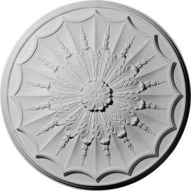 "Ekena Artis Ceiling Medallion CM27AR, 27-1/8""OD"