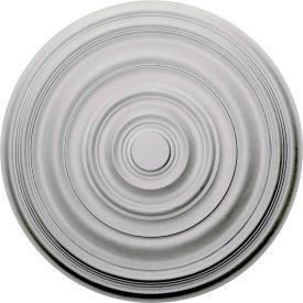 "Ekena Carton Smooth Ceiling Medallion CM29CA, 29-1/8""OD x 1-1/2""D"