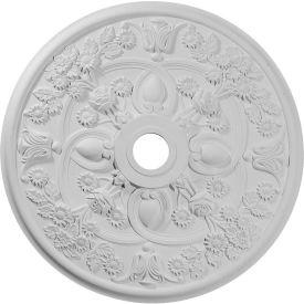 "Ekena Rose Ceiling Medallion CM30RO, 30 7/8""OD x 3-5/8""ID x 1-3/8""D"