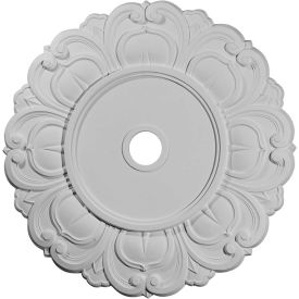 "Ekena Angel Ceiling Medallion CM32AN, 32-1/4""OD x 3-5/8""ID x 1-1/8""D"