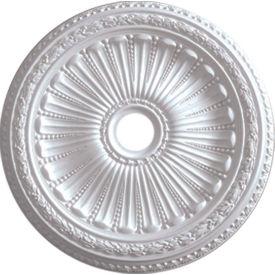 "Ekena Viceroy Ceiling Medallion CM35VI, 35-1/8""OD x 3-7/8""ID x 2-1/2""D"