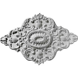"Ekena Ashford Ceiling Medallion CM42X28AS, 42-3/4""W x 28-7/8""H x 1""D"