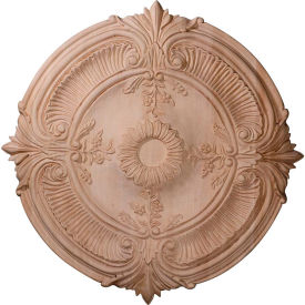 "Ekena Carved Acanthus Leaf Wood Ceiling Medallion CMW16ACRO, 16""OD x 1-1/8""D"