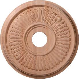 "Ekena Carved Berkshire Ceiling Medallion CMW16BEMA, 16""OD x 1-1/8""D"