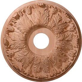"Ekena Carved Florentine Ceiling Medallion CMW16FLCH, 16""OD x 3-7/8""ID x 1-1/8""D"