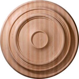 "Ekena Carved Traditional Ceiling Medallion CMW24TRCH, 24""OD x 2-1/4""D"