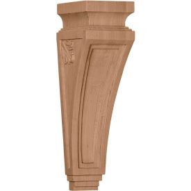 "Ekena Arts And Crafts Corbel COR03X04X14ARCH, 3-7/8""W x 4-1/2""D x 14""H"