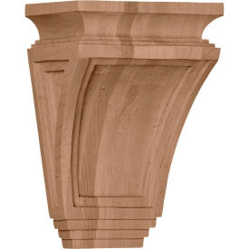 "Ekena Arts And Crafts Corbel COR06X04X09ARCH, 6""W x 4""D x 9""H"