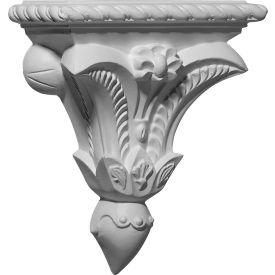 """Ekena Pompeii Corbel COR07X03X08PO, 7-3/8""""W x 3-1/4""""D x 8-3/4""""H"""