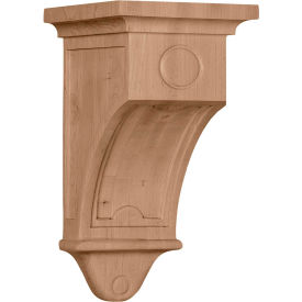 "Ekena Arts And Crafts Corbel COR07X07X14ARMA, 7-1/2""W x 7-1/2""D x 14""H"