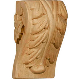 "Ekena Medium Traditional Wood Corbel CORW05X05X10TRCH, 4-1/2""W x 5""D x 10""H"