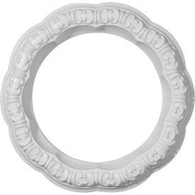 "Ekena Swindon Ceiling Ring CR09SW, 10""OD x 6-5/8""ID x 1-5/8""W x 1-1/4""D"