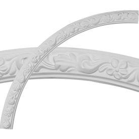"""Ekena Sussex Floral Ceiling Ring CR39SU, 40""""OD x 36""""ID x 2""""W x 7/8""""D"""