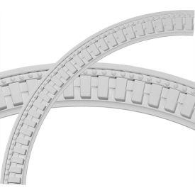 "Ekena Dentil And Bead Ceiling Ring CR47DT, 47""OD x 40-1/2""ID x 3-1/4""W x 1-1/8""D"