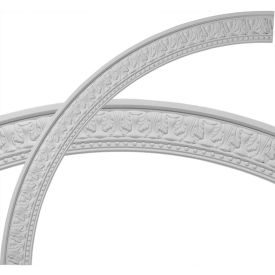 "Ekena Palmetto Ceiling Ring CR70PM, 71-1/4""OD x 62-3/4""ID x 4-1/4""W x 1-3/8""D"