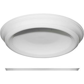 """Ekena Traditional Smooth Surface Mount Ceiling Dome DOME37TR, 37-3/8""""OD x 26-1/2""""ID x 4""""D"""